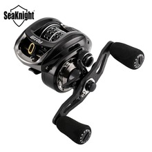 POTM  Fishing Reel 7.6:1 155g C60 Carbon Fiber Baitcasting Ultra-Light Shallow Spool Fishing Reel Long Casting