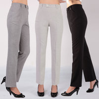 Summer female trousers women pants high waist straight pants plus size trousers women