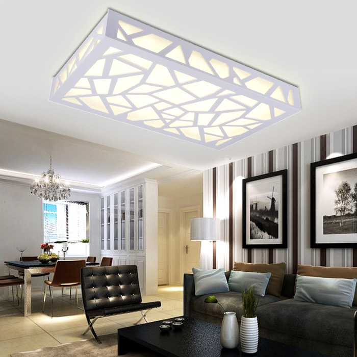 Minimalist Bedroom Balcony Aisle Carved Led Ceiling Living