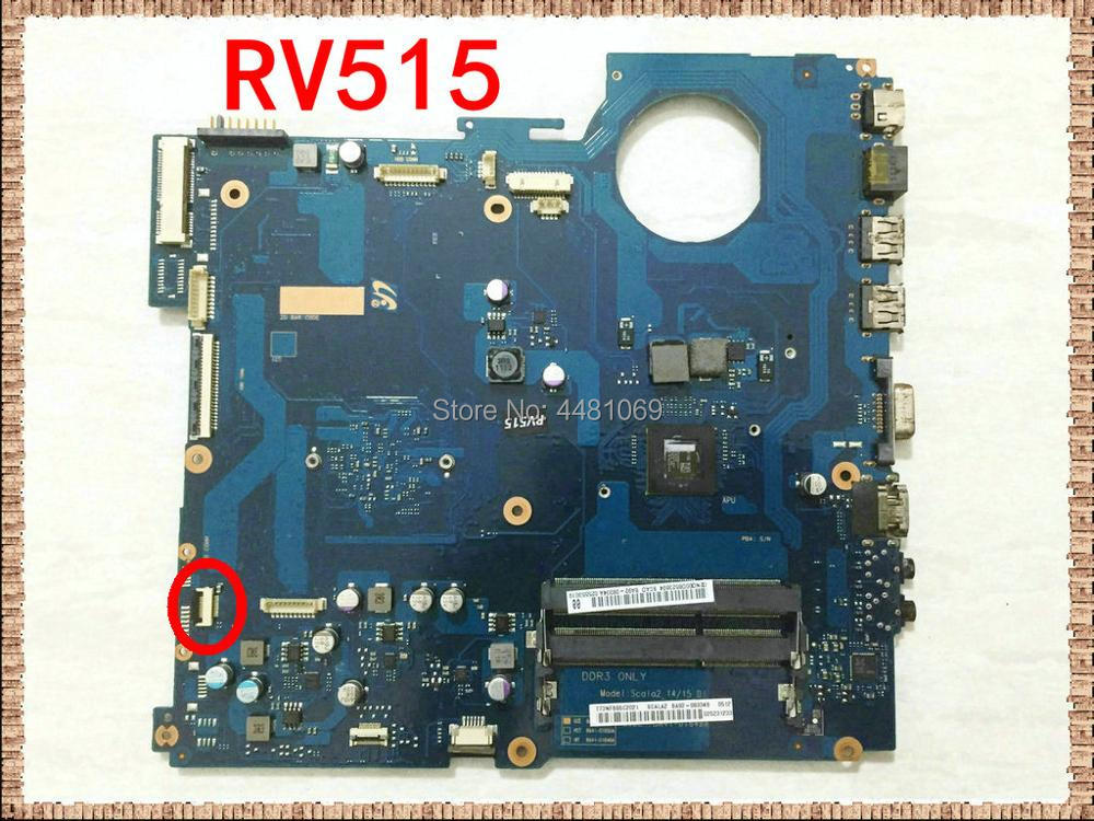 BA41 01649A BA92 08334A BA92 08334B Laptop Motherboard For Samsung RV515 NP RV515 BA41 01650A Main