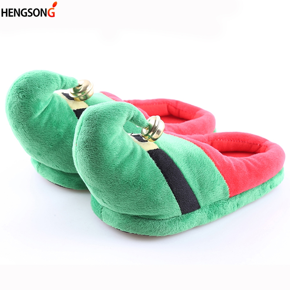 Christmas Slipper Couple Kids Family Warm Winter Slippers Cotton Soft Thicken Lovely Home Slippers Fashion Indoor Festival Shoes