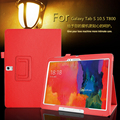 For Samsung Galaxy Tab S 10.5 T800 Tablet Litchi PU Leather Case Cover Stand For Samsung Galaxy Tab S 10.5 T805 Tablet Case