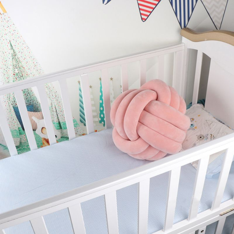 Soft Knot Ball Cushions Bed Stuffed Pillow Home Decor Cushion Ball Plush Throw Soft Knot Ball Cushions Bed Stuffed Pillow Home Decor Cushion Ball Plush Throw