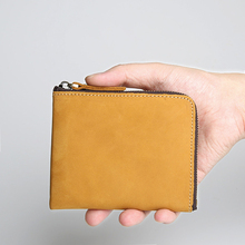 NewBring Genuine Leather Wallet Men Fashion High Quality Vintage Wallet Brand Credit Card Purse male