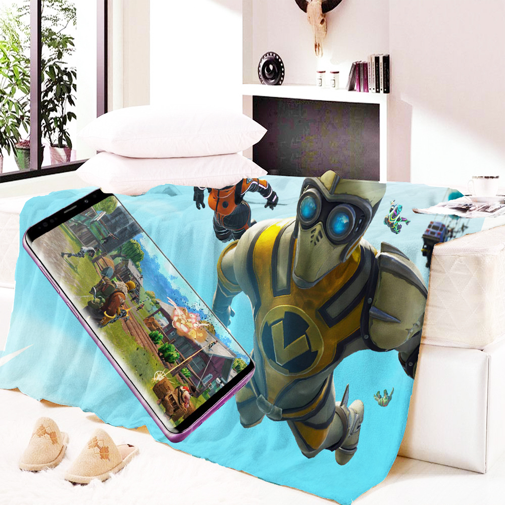 Fortnite Bettwäsche Sherpa Blanket for Beds Throw Blanket Romantic Throw Bedding 1pc Manta