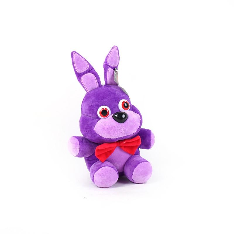 New Arrival FNAF Bonnie Plush Soft Toy Doll For Kids Gift FNAF Bonnie Suave De La Felpa Mu/ñeca De Juguete para Ni/ños Regalo