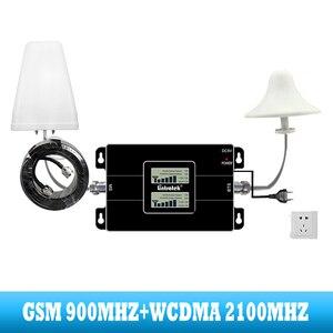 Image 3 - Lintratek 2G GSM 900 3G 2100 handy dual band Signal booster Cellular repeater WCDMA UMTS internet kommunikation verstärker