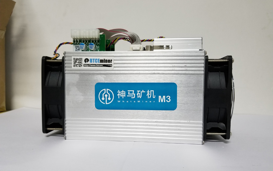 The Used Only 80% New More Than Antminer S9 S7 V9 Ebit E9 Better  Asic Bitcoin BTC BCH Miner WhatsMiner M3 11.5TH/S ( No Psu )