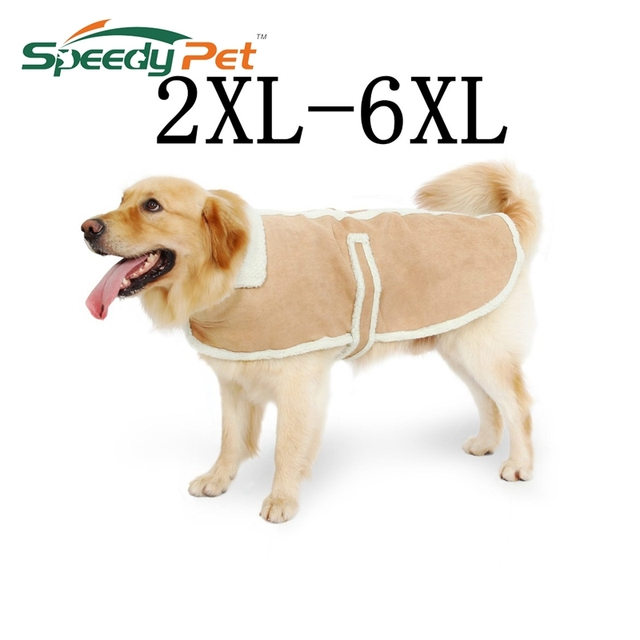 Wholesale Cheap Price!!!Large Pet Dog Clothes Winter Pet