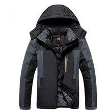 Man Warm Winter Jacket Outdoor Hiking Camping ski Clothes Soft shell  down Jacket bomber Man softshell jacket men