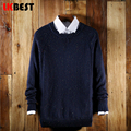 LKBEST 2017 Spring autumn Brand men Casual sweater mens Wool Pullover christmas sweater men Dress Knitted Sweater Clothing(MY01)