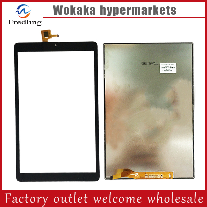 For 10.1 Alcatel OneTouch Pixi 3 (10) 3G 8080 8079 Tablet Capacitive touch screen panel lcd display Digitizer Glass Sensor 100% original new mid glass 8 for alcatel one touch pixi 3 8 0 9022x 8gb lte tablet touch screen panel digitizer glass sensor