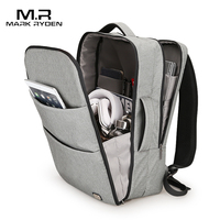 Markryden New Huge Capacity Waterproof USB Design Backpack Suit For 17 Inches Student Backpack 5 7