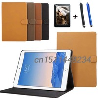 Hot Sale Luxury Retro PU Leather Case Cover For Ipad Air 3 Stand Smart Cover For
