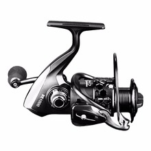 12+1 Ball Bearings Spinning Fishing Reel CNC Aluminium Spool Light Weight Saltwater Freshwater Spinning Reels Free Shipping