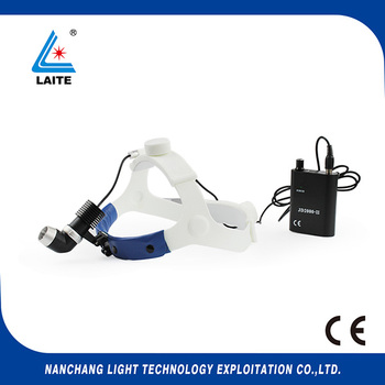 5w Portable LED surgical operating light medical headlight headlamp + aluminum box free shipping-1set