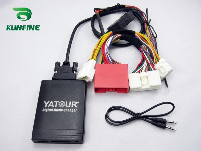 Yatour цифровой автомобильный радиоприемник USB адаптер для Honda Accord Civic CRV Odyssey Pilot - 4