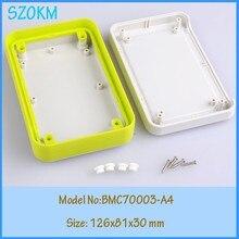 10 pcs/lot project box plastic enclosure box for electronic project case plastic small plastic box enclosure126x81x30 mm