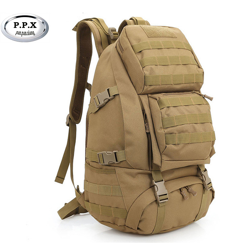 Outdoor Sports Bag Camping Travel Hiking Climbing Pack Multifunction Military Tactical Backpack With MOLLE Bag S276 military army tactical molle hiking hunting camping back pack rifle backpack bag climbing bags outdoor sports travel bag