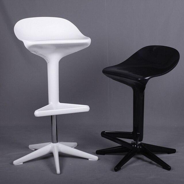 Diseño moderno populares taburete plástico altura ajustable cambio ...