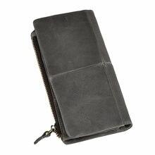 07d7203553ea6 Orijinal deri Erkekler Ünlü Marka Moda Businee Kart Durumda Tutucu Casual  Çek Karnesi Yapış Cüzdan Tasarımcı çanta telefon kılıf.