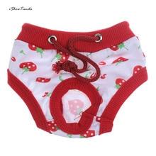 Женская собака физиологические менструальные гигиенические штаны для маленьких собак, щенков, кошек, одежда для собак