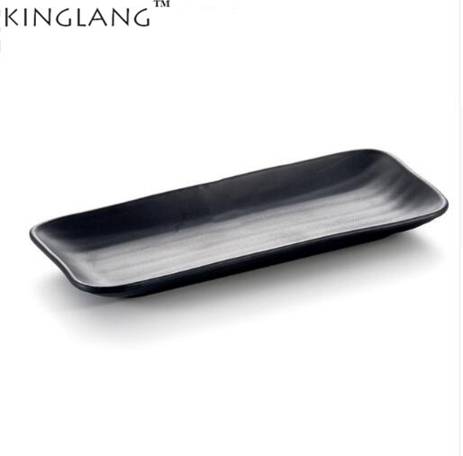1pc KINGLANG restaurant style plastic melamine dish ware rectangle fish BBQ plate dinnerware suppliers-in Dishes \u0026 Plates from Home \u0026 Garden on ...  sc 1 st  AliExpress.com & 1pc KINGLANG restaurant style plastic melamine dish ware rectangle ...