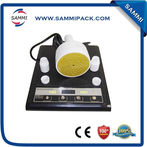 Portable Induction foil cap sealer,manual aluminium foil sealing machine 20-100mm 1pc portable magnetic induction bottle sealing machine aluminum foil cap sealer 20 100mm dgyf s500a