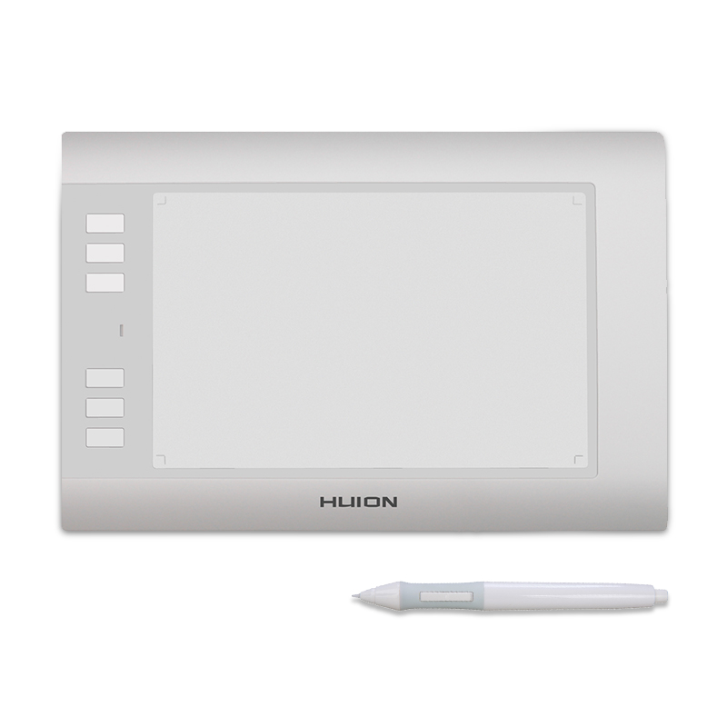 Huion H58L 8'' x 5 Drawing Tablets Digital Art Painting Board Signature Professional Graphics Pen Tablets With 6 Express Keys huion h580 8 x 5 inch interactive digital graphic tablets professional signature tablet handwriting boards with functional keys