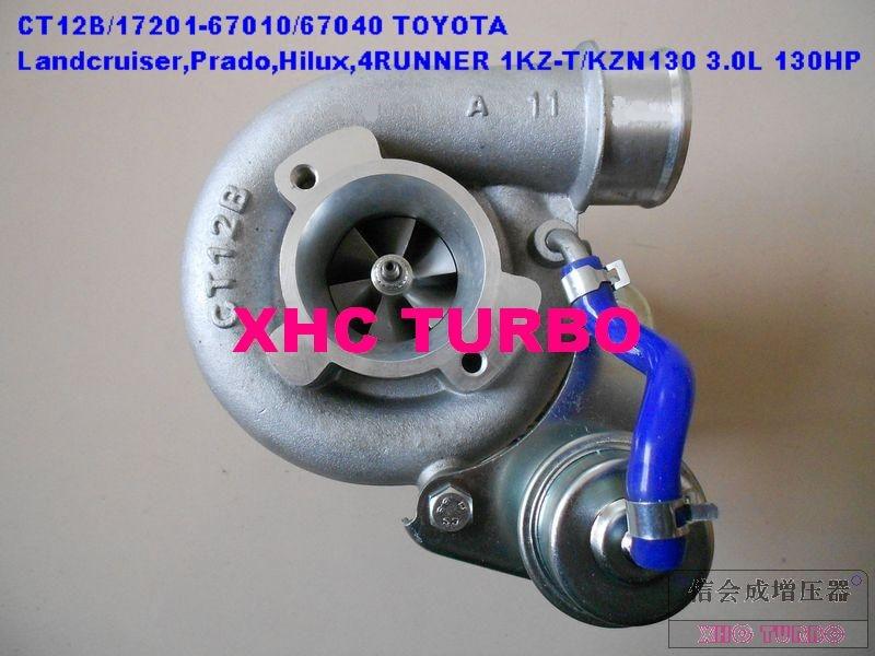 Новый турбокомпрессор CT12B 17201 67010 67040 для TOYOTA 4 runner Landcruiser TD,1KZ-TE 3.0L 125HP