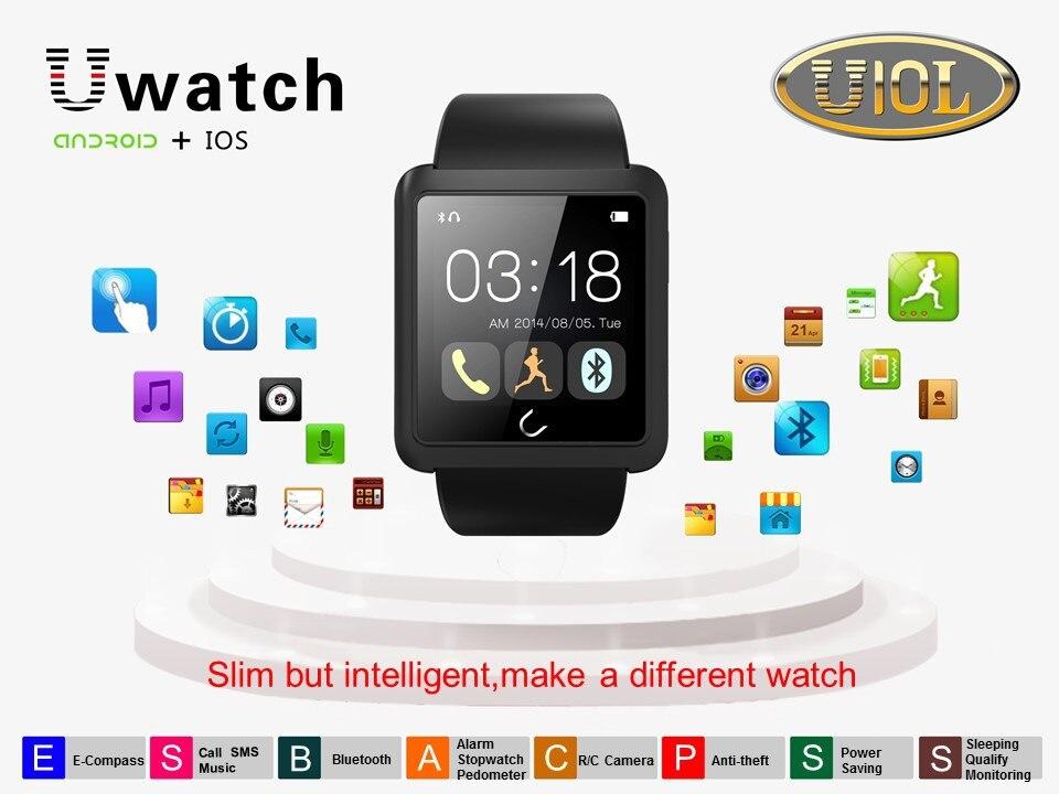U Watch U10L Bluetooth Smart Android Watch Phone Activity Tracker Sport Pedometer Anti lost font b