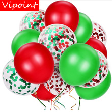VIPOINT PARTY red green pink gold blue latex balloons wedding event christmas halloween festival birthday party PD-178