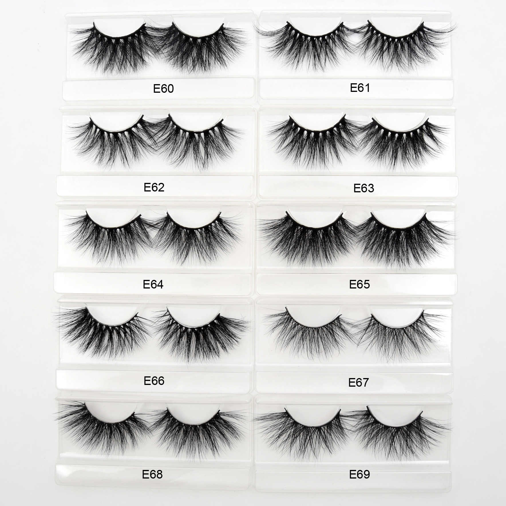 fb226afc52d ... Visofree Mink Eyelashes 25mm Lashes Dramatic 3D Mink Lashes False  Eyelashes Makeup Soft Eyelash Extension Long ...