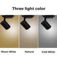 10pcs 10W COB LED Track Light Led Rail Lamp Leds Spotlights Iluminacao Lighting Fixture For Shop