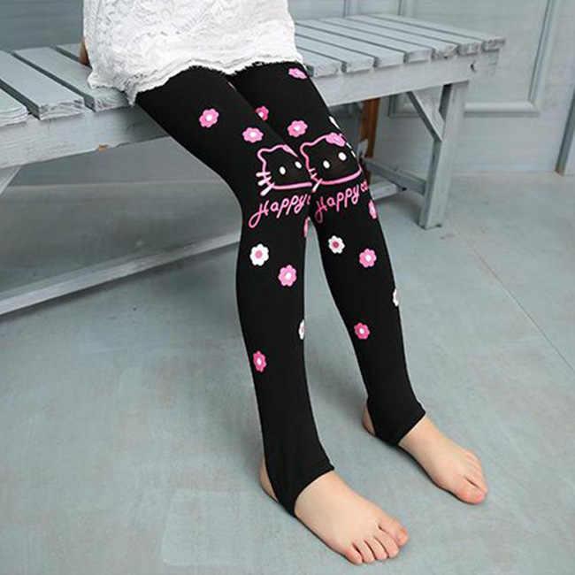 46ce5988d ... Summer Baby Kids Childrens printing hello kitty Toddler Classic Leggings  girls pants Girls legging 2- ...