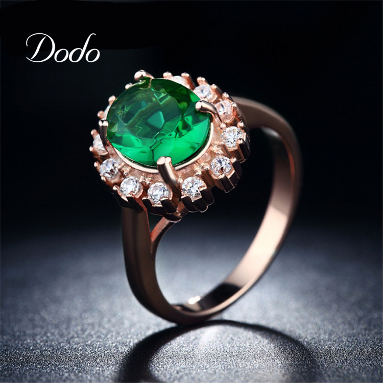 compare prices on amethyst emerald ring shopping