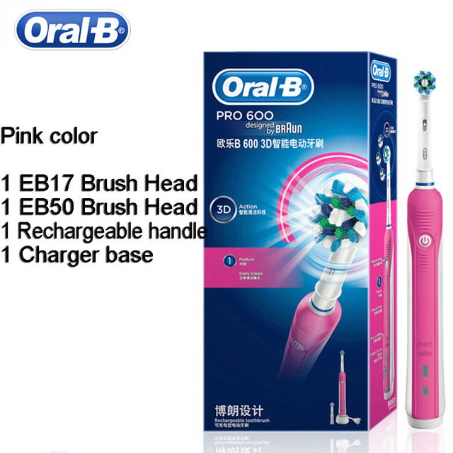 Товар Oral B 3D Electric Toothbrush D16 PRO600 Oral Hygiene Electric ... 1c42e554e91e
