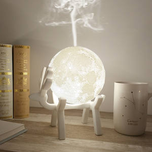 Diffuser Air-Humidifier Usb-Mist-Maker Essential-Oil Aroma Night-Lamp Drop-Ship Ultrasonic-Moon