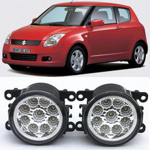 For Suzuki SWIFT MZ EZ Hatchback  2005-2015 Car-Styling Led Light-Emitting Diodes DRL Fog lamps 1set