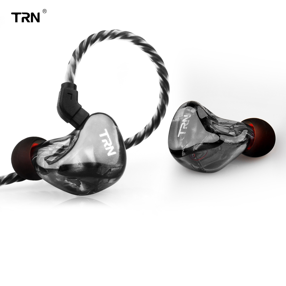 TRN 6BA Driver Unit In Ear Earphone 6 Balanced Armature HIFI Monitor Running Sport Earphone Earbud