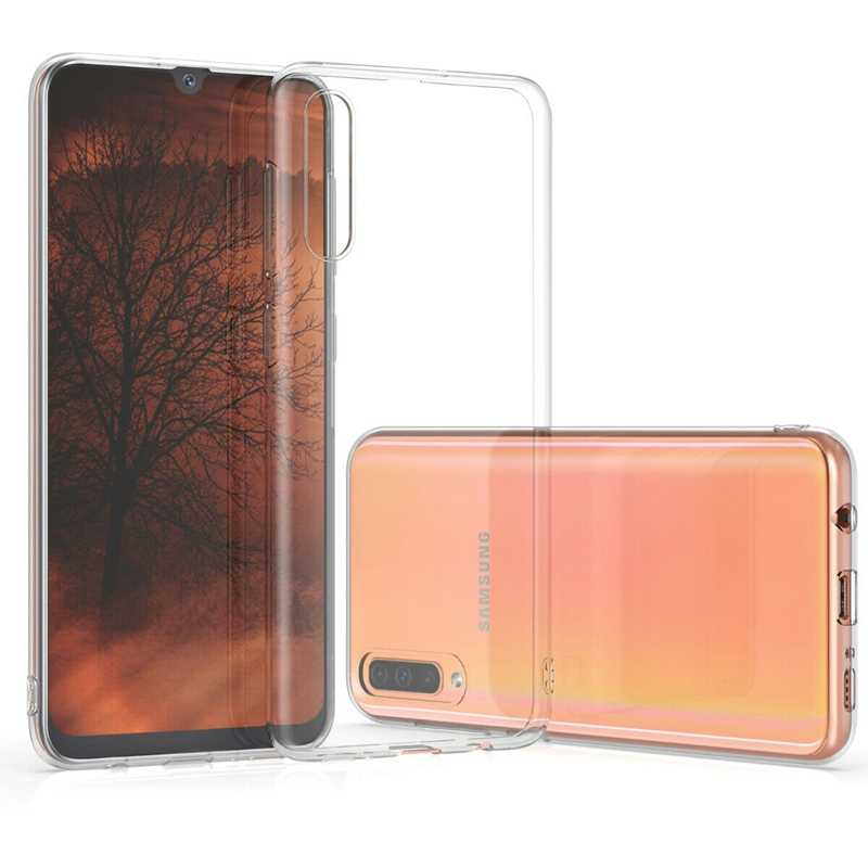 Voor Samsung galaxy A7 Transparant Clear Soft Case voor Samsung A30 A50 S10 S8 S9 Plus S10e A7 A8 2018 plus Ultra Dunne Cover