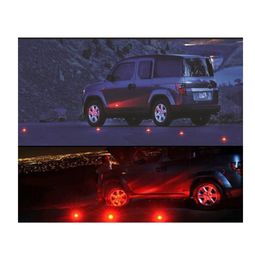 TKDMR 1pcs Emergency Traffic Warning light Magnetic Portable Safety Road Led Flares free shipping
