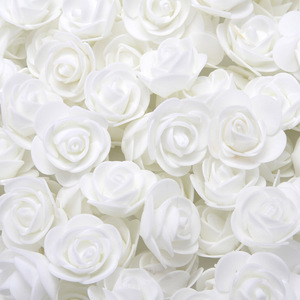 Image 4 - Conjunto de rosas, 500 peças de 3.5cm, cabeças de flores de espuma artificial, molde de urso de pelúcia, diy 20cm, acessórios de urso presente do dia dos namorados de decoração