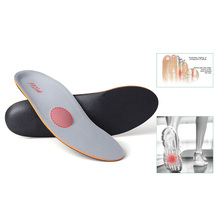 Buy PCSsole flat foot orthopedic insole arch support plantar fasciitis forefoot palm rear heel spur pain sports insoles 127 directly from merchant!
