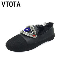 VTOTA Ballet Flats Womens Fashion Autumn Shoes Woman Slip On Shoes 2017 Flat Shoes Women Casual Chaussures Femme Loafers D65