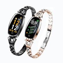 цена 2019 New Fitness Tracker Smart Watch Waterproof Pedometer Blood Pressure/Heart Rate Smart Bracelet Women pk fitbits mi band 4 M4 онлайн в 2017 году