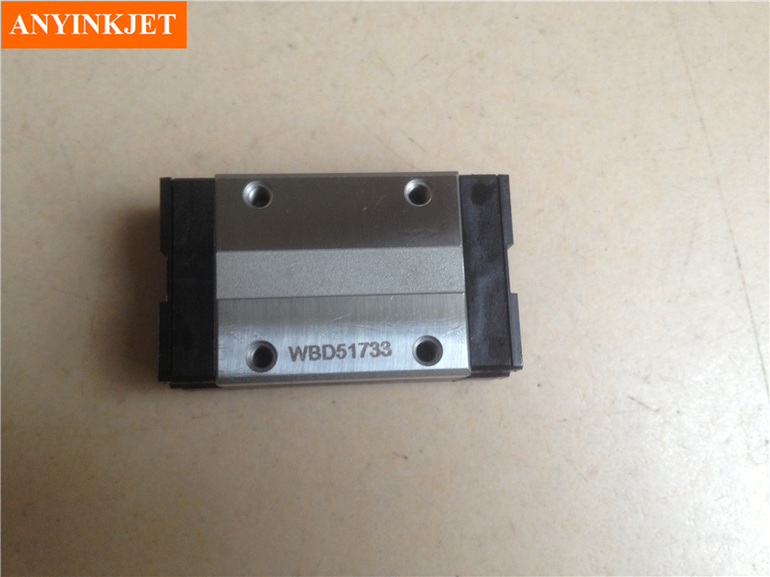 Original for Roland slider SSR15XW THK Linear block for Roland VP SP SJ XJ XC FJ RA 300 540 640 740 printer bearing original roland feed motor for sj 540 sj 740 fj 540 fj 740 7811909000