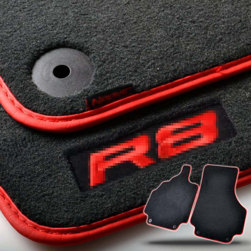 2pcs Brand New Auto Carpet Mats Carpet Perfect Fitted For Audi R8 Car Floor Mats