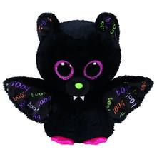 "Pyoopeo Ty Beanie Boos 10"" 25cm Dart the Bat Plush Medium Soft Big-eyed Stuffed Animal Collection Doll Toy with Heart Tag(China)"