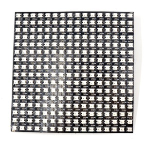 Image 5 - 16*16 Pixel 5050 RGB WS2812B panel SK6812 WS2812 Addressable Ragid LED Panel Screen Individually Addressable RGB Full Color DC5V